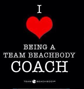 I love being a Team Beachbody Coach
