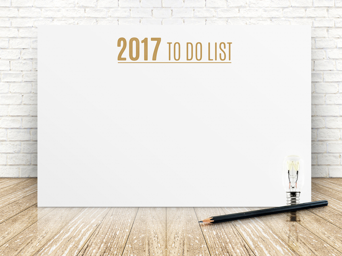 Make Plans With Your 2017 To Do List