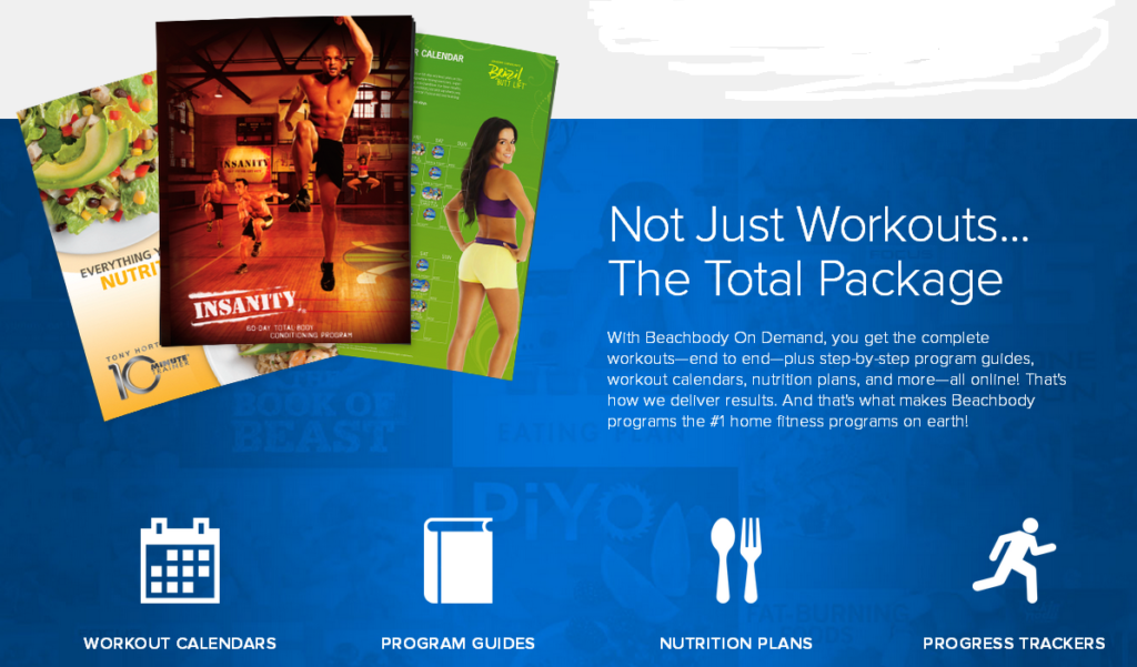 Annual All-Access Beachbody On Demand Total Package