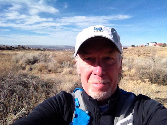 Rich Dafter foothills run behind John Roberts Dam