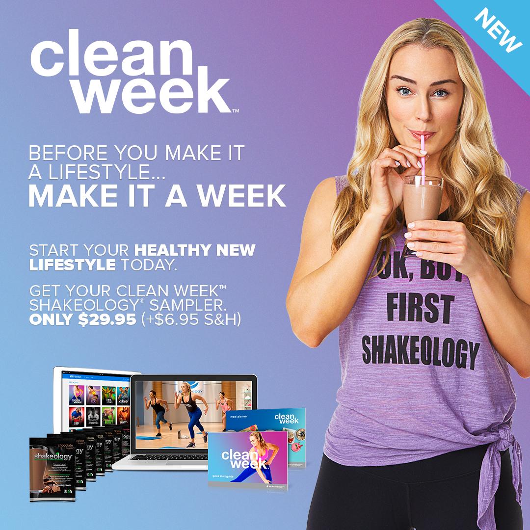 clean week, clean week change