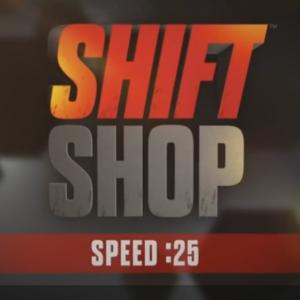 shift shop speed 25, chris downing, challenge du jour, beachbody on demand