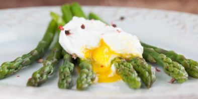 Poached Eggs with Asparagus