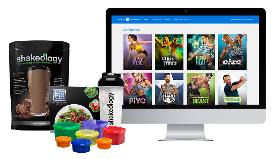 Annual All Access Beachbody On Demand and Shakeology Challenge Pack
