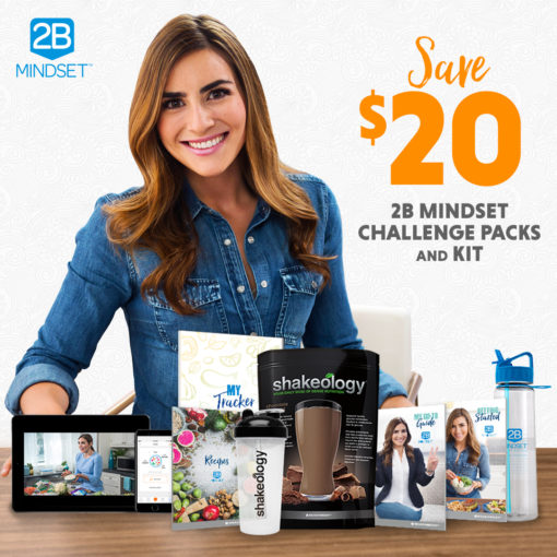 Save $20.00 on 2B Mindset Challenge Packs and Kits