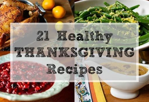 21 Healthy Thanksgiving Recipes