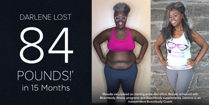 Darlene Lost 84 Pounds in 15 Months