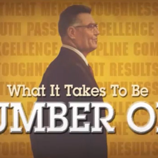 What It Takes to Be Number One