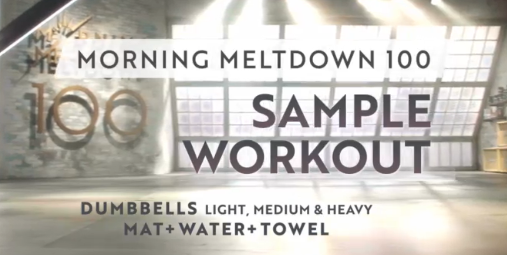 Beachbody On Demand Free Samples Workout Morning Meltdown 100