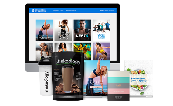 Barre Blend, Beachbody On Demand and Shakeology Challenge Pack