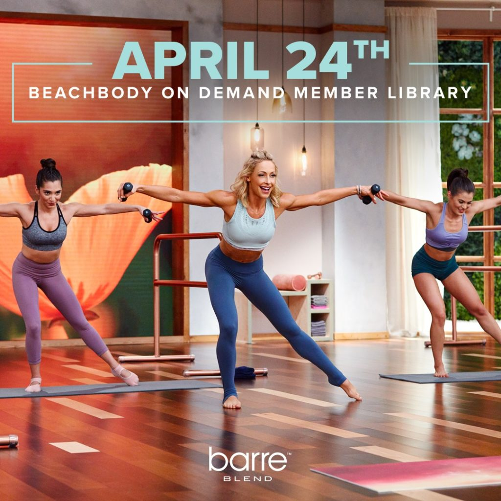 Barre Blend is Coming April 24th