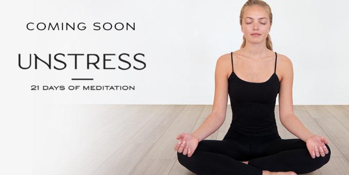 Unstress: 21 Days of Meditation