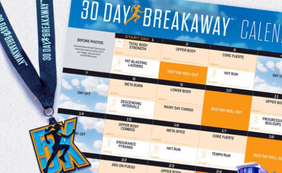 30 Day Breakaway