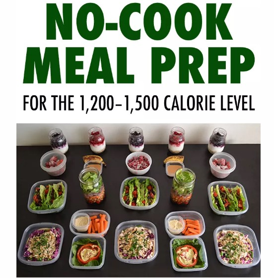 Meal Prep Plan With No Cooking
