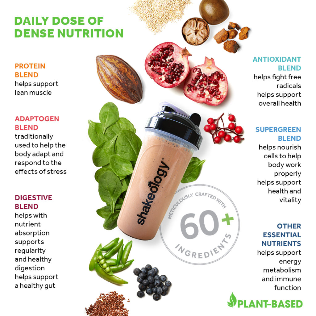 Superfood Dense Shakeology is Available in 9 Delicious Whey and Vegan Flavors