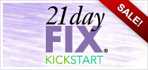 21 Day Fix + 3 Day Kickstart Challenge Pack