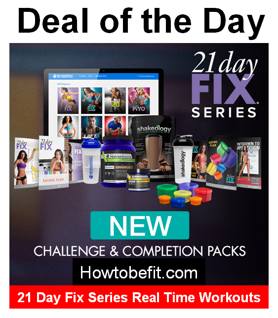 21 Day Fix Series Challenge and Complete Packs