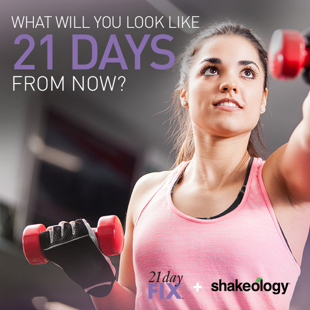 21 Day Fix -What Will You Look Like 21 Days From Now