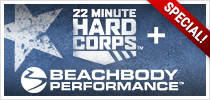 22 Minute Hard Corps Beachbody Performance Challenge Pack