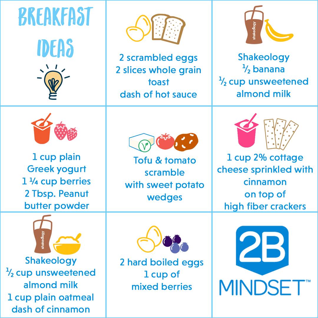 2B Mindset Nutrition Program