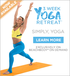 3 Week Yoga Retreat is Free on Beachbody On Demand