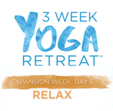 3 Week Yoga Retreat Relax with Faith Hunter