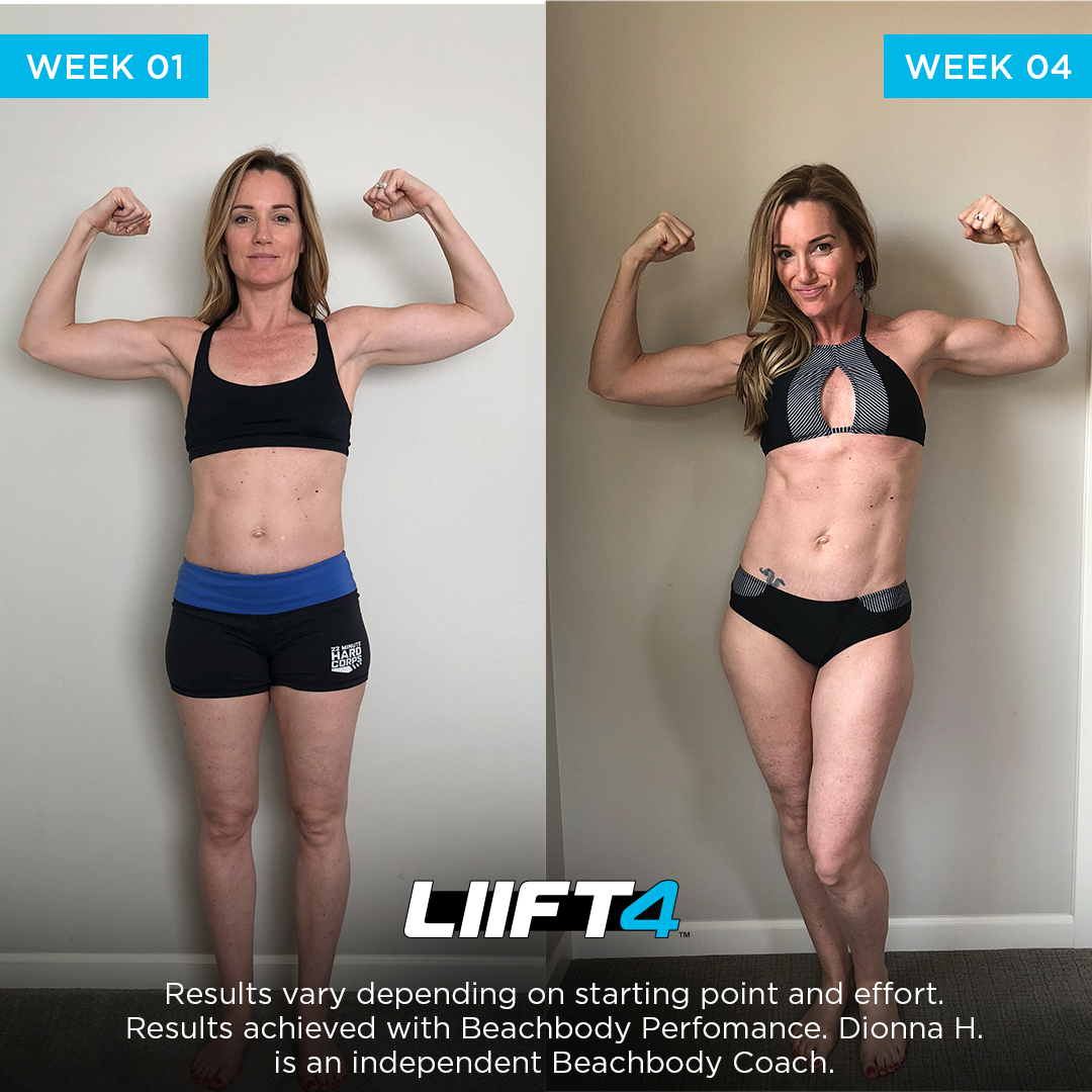 Dionna's LIIFT4 Results
