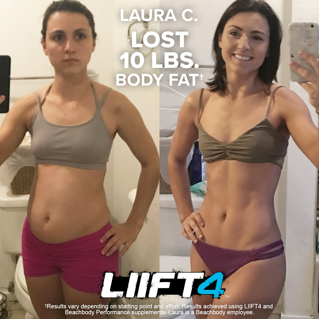 Laura Lost 10 Pounds with LIIFT4