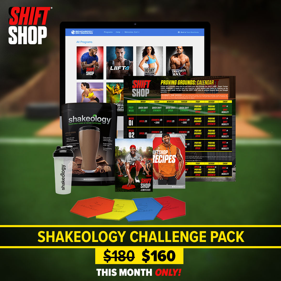 Save on Shift Shop Challenge Packs and Kits