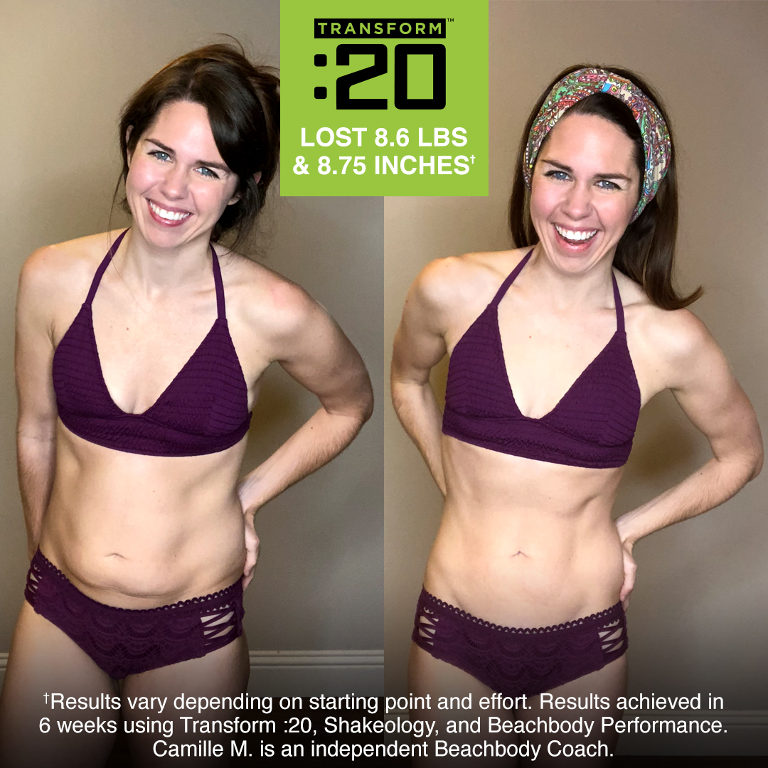 Camille Lost 8.6 Pounds with Transform 20