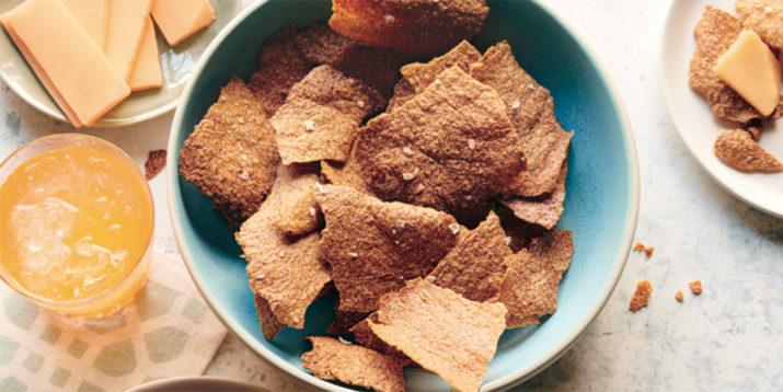 Baked Pretzel Chips