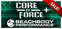 Core de Force and Beachbody Performance Challenge Pack
