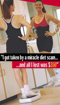 Diet and Weight Loss Scams