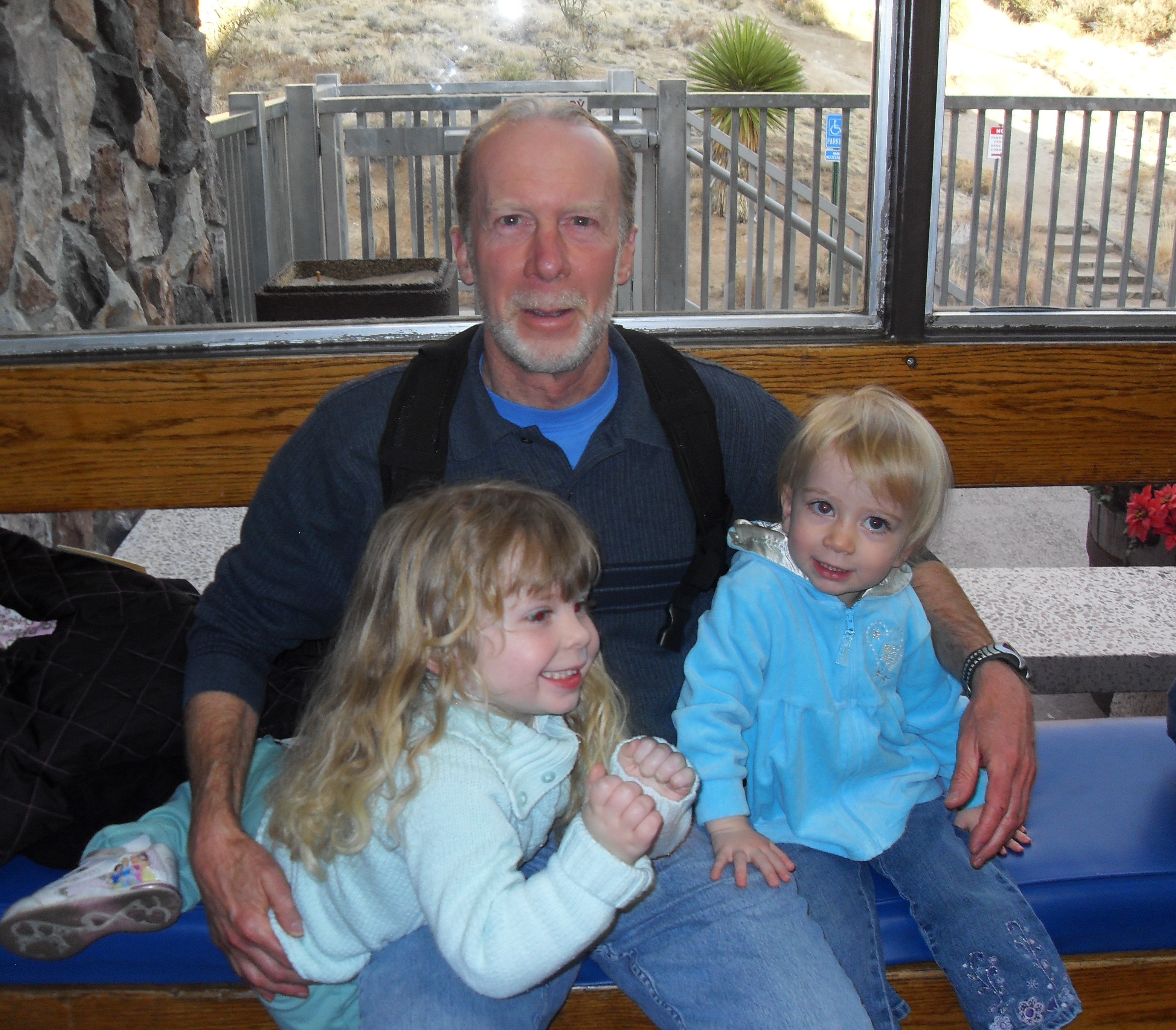 Grace, Carly and Dad