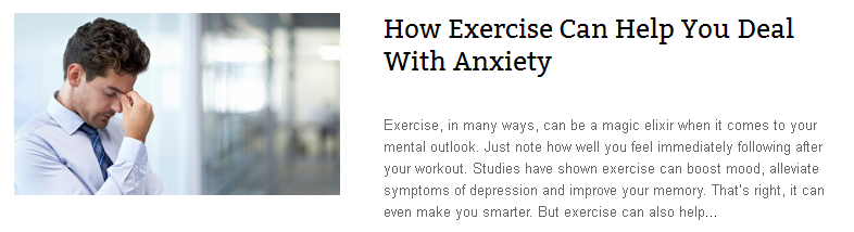 How Exercise Can Help You Deal With Anxiety