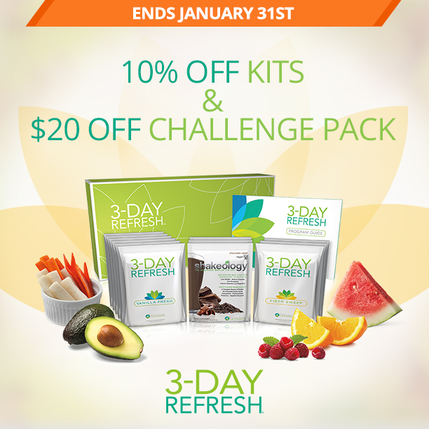3 Day Refresh January Sale