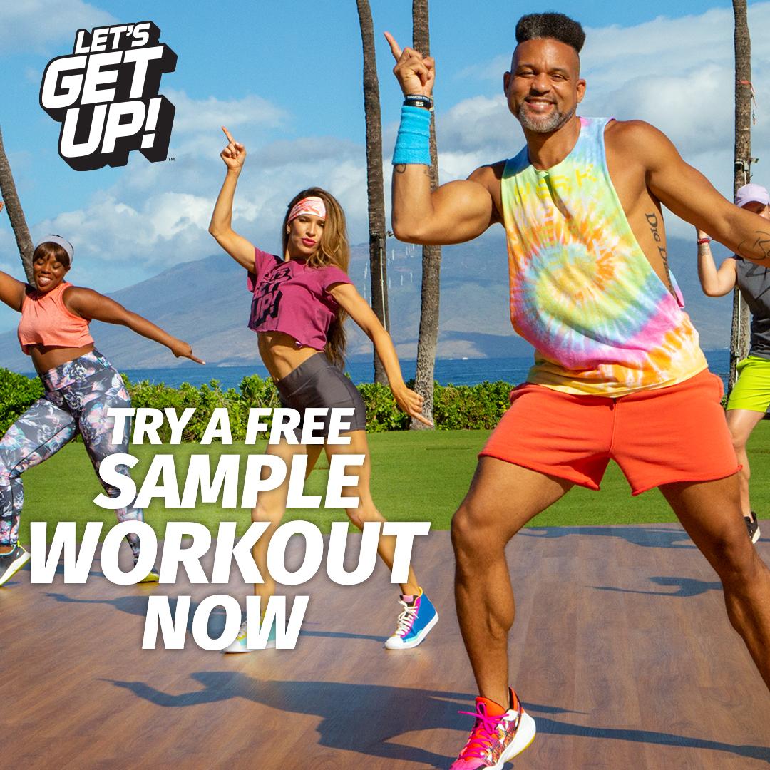 Let's Get Up Free Sample Workout