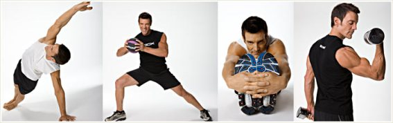 Variety of Workout Movements with Tony Horton