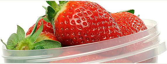 A Container of Strawberries