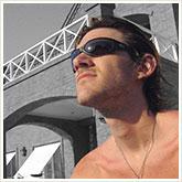Man Getting Sun