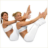 Teigh McDonough and Gillian Marloth, creators of Yoga Booty Ballet®