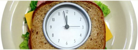 Clock on a Sandwich