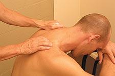 Shoulder and Upper Back Massage