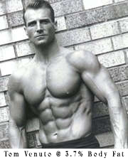 Fat Loss expert Tom Venuto at 3.4% body fat