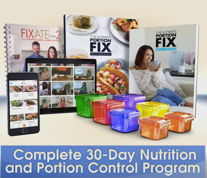 Autumn Calabrese's Ultimate Portion Fix System