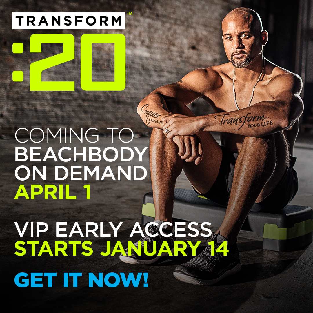 Save $20.00 on Transform :20 Challenge Packs and Completion Packs